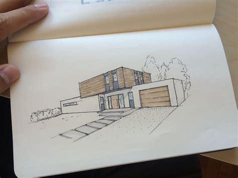 Moderne Häuser Zeichnen by Design Architektur Architecture Einfamilienhaus Home House
