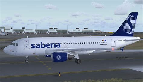 Sabena Airlines Airbus A319-112 for FSX