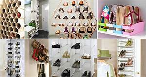 Schuhe Platzsparend Aufbewahren : platzsparende schuhaufbewahrung ideen ~ Sanjose-hotels-ca.com Haus und Dekorationen