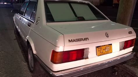 free car manuals to download 1991 maserati 430 parental controls 1989 maserati 430 biturbo youtube