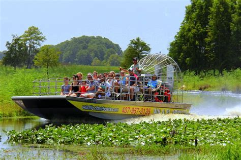 Boat Rides In Florida by Florida Airboat Ride And Shopping Tour Combo