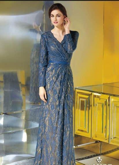 model baju dress brokat modern kombinasi terpopuler
