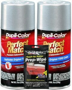 duplicolor silver charcoal ford lincoln mercury paint code d1 yn 1q 9z ebay