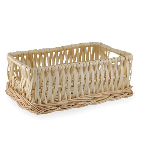 bread basket wicker willow wicker bread basket the lucky clover trading co
