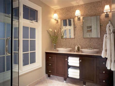 ideas for master bathrooms bathroom backsplash bathroom ideas designs hgtv