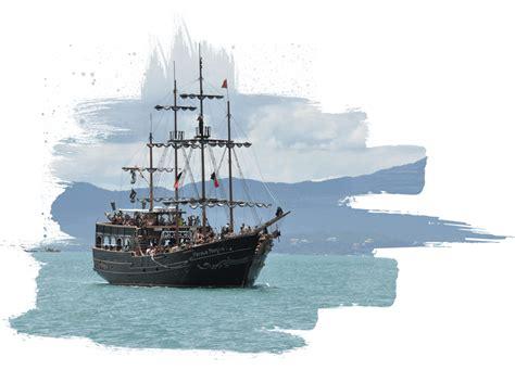 Barco Pirata Negro by P 233 Rola Negra