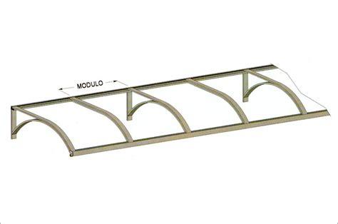 Profili In Alluminio Per Tende Da Sole by Sandix Pensiline Fisse Policarbonato
