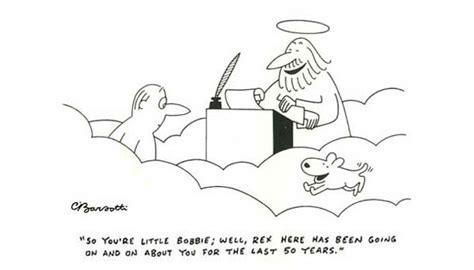 Cartoonist Charles Barsotti Drew His Own Ending