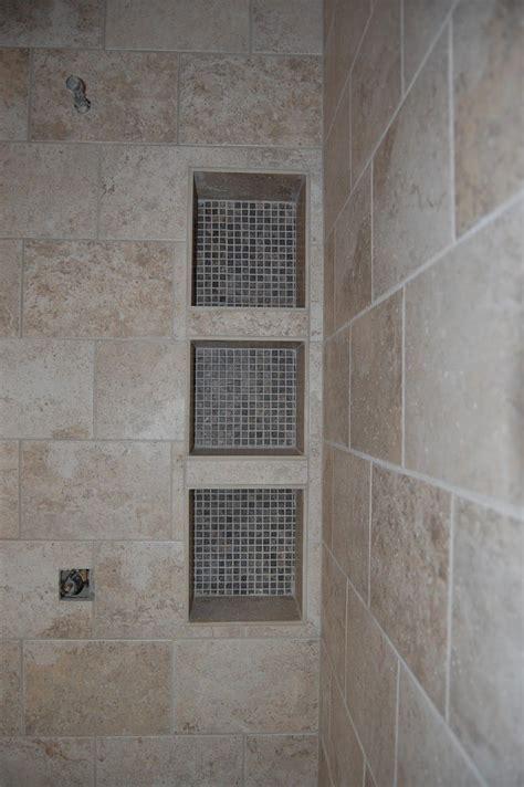 Badezimmer Fliesen Regal by Shower Shelf Custom Tile Shower Cubby Shelves For The