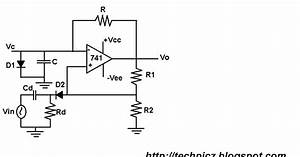 techpicz monstable multivibrator using 741 op amp With opamp multivibrator