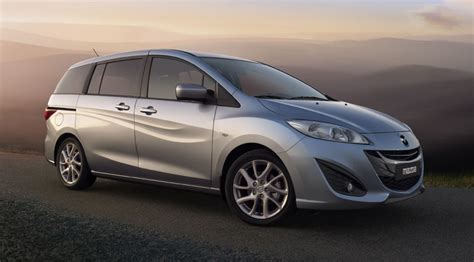 Mazda 5 Mpv (2010) First Official Pictures