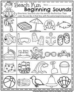 summer kindergarten worksheets oxford matter science 1st grade science first grade science