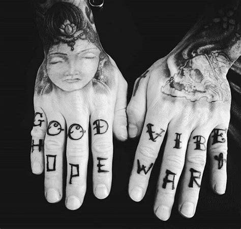 finger mann 75 finger tattoos for manly design ideas