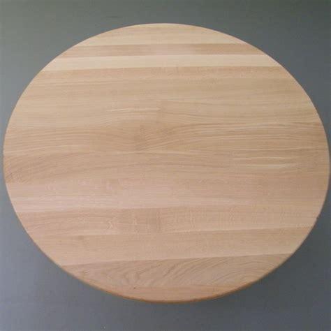 Welches Holz Für Tischplatte by Runde Tischplatte Aus 25mm Eichenholz 216 110cm Kaufen