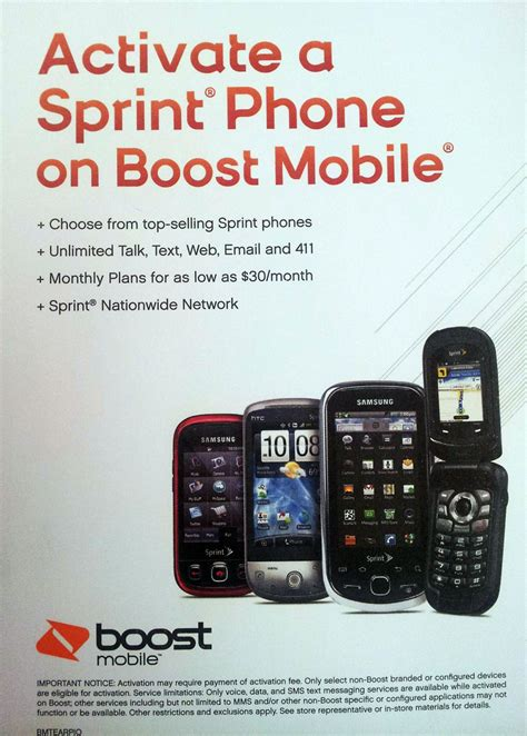 boost mobile to allow activating sprint phones prepaid