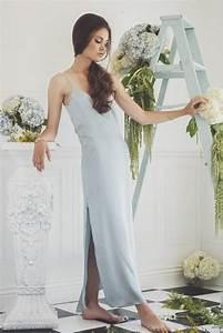 dress bridesmaid silk slip dress 2479277 weddbook With white silk slip wedding dress