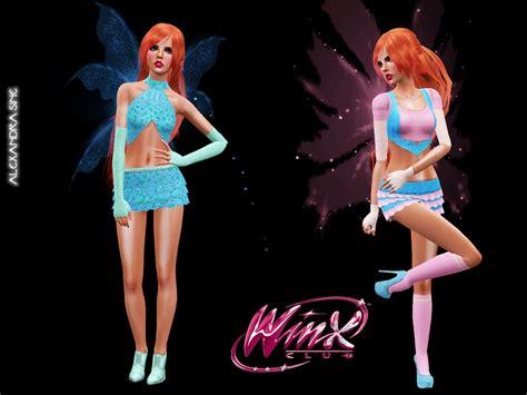 Alexandra_sine's Winx Club Bloom Transformation Costumes