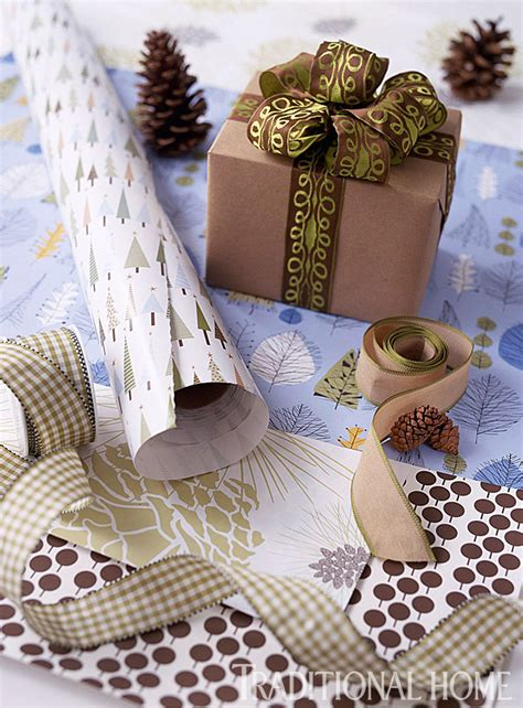 Great Gift Wrapping  Traditional Home
