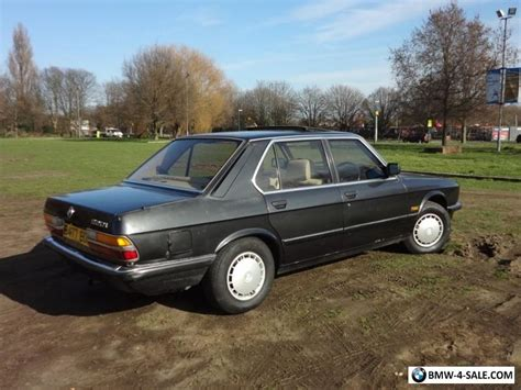 Vintage Bmw For Sale by 1984 Bmw 520 For Sale In United Kingdom