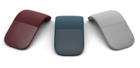 one touch ultra blue microsoft introduces surface arc mouse with surface