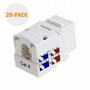 Cat6 Rj45 Keystone Module Connector