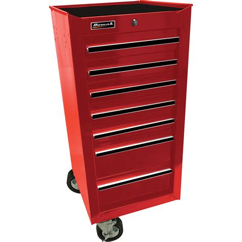 Tool Chest Side Cabinet by Homak 17in Pro Series 7 Drawer Side Cabinet Northern