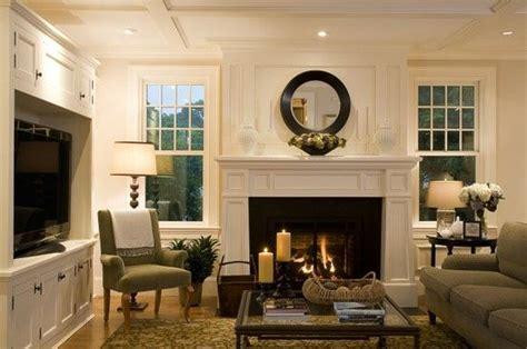 tv  fireplace adjacent walls family rooms pinterest