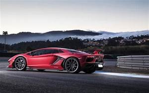 Lamborghini Aventador SVJ 2018 4K Wallpaper HD Car