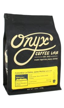 Save up to 50% off with our best coupon. Onyx Coffee Lab - Colombia La Palma Jaime - 12 oz.