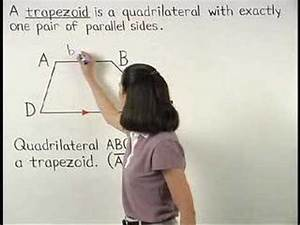 Definition Of A Trapezoid - Mathhelp Com