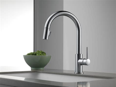 style kitchen faucets delta 9159 ar dst trinsic single handle pull kitchen