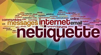 Image result for netiquette images