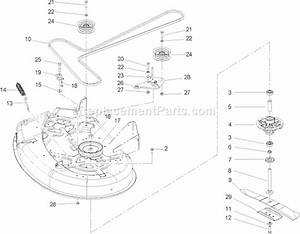 Toro 74301 Parts List And Diagram