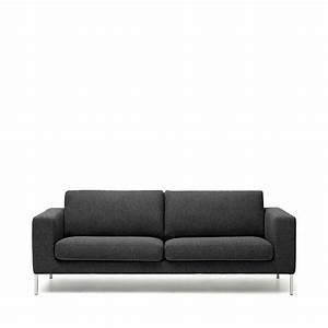 canape 2 places tissu et pieds metal biki by modalto drawer With tapis kilim avec canapé 2 places confortable