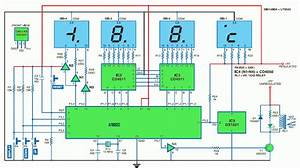 Thermometer Circuit Diagram