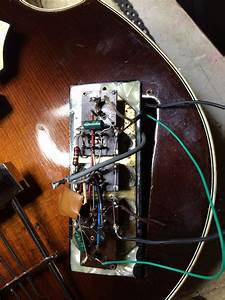 Hofner 500  1 Wiring For Control Panel