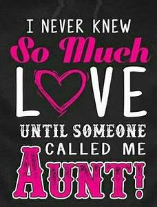 Only an Aunt Can Quote | Aunt, Hug and Auntie