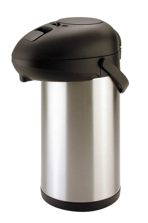 5l 5000ml airpot flask cold s s vacuum
