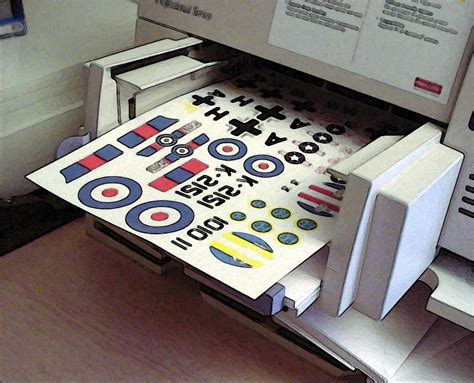 experts choice scale decals bare metal foil