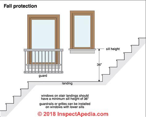 stairway landings platforms codes construction