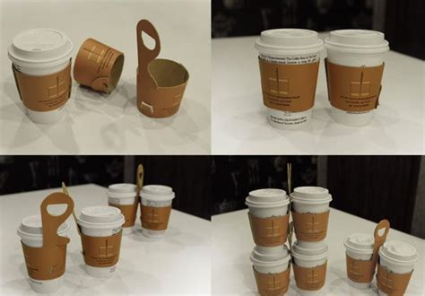 Creative And Cool Coffee Sleeves, Carriers And Holders Coffee Cake Houston American Genius Kitchen Glass Tables Nz Caffeine Without And Queenstown Quince Egg Free