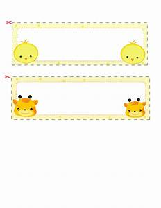 Name Cards For Kids  3