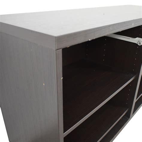 Ikea Black Sideboard by 90 Ikea Ikea Black Credenza Or Sideboard Storage