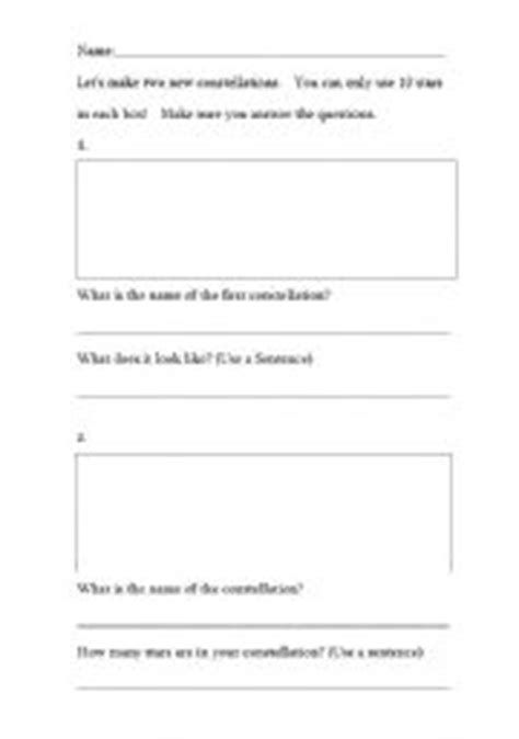 english worksheets constellations