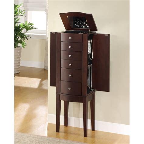 powell jewelry armoire powell furniture merlot jewelry armoire 398 315