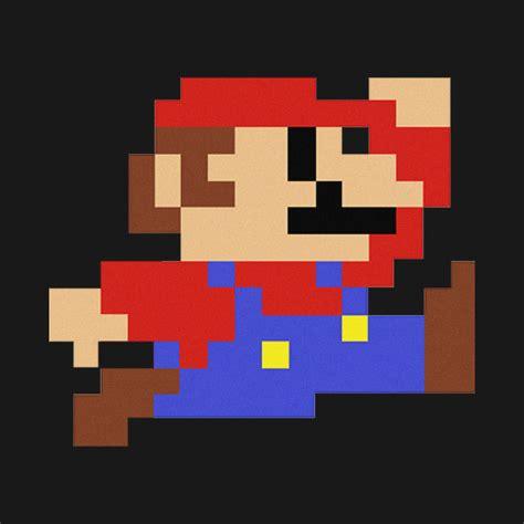 Super Mario 8bit Mario T Shirt Teepublic