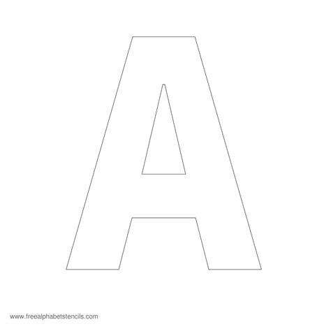 large alphabet stencils freealphabetstencilscom