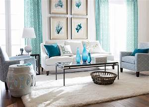 Bit, Of, Blue, Living, Room