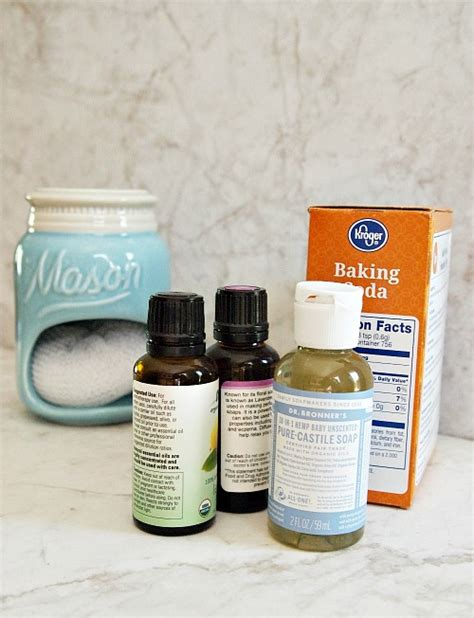 Plink Your Sink Ingredients by Diy All Soft Scrub Cleaner Sink Tile
