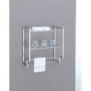 wall mounted towel rack holder hotel bathroom storage